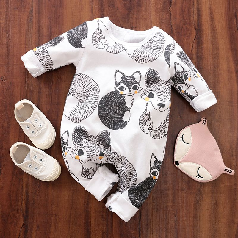 Baby Boy Girl 3D Tiger Romper Bodysuit Infant Babygrows Costume Winter Outfits