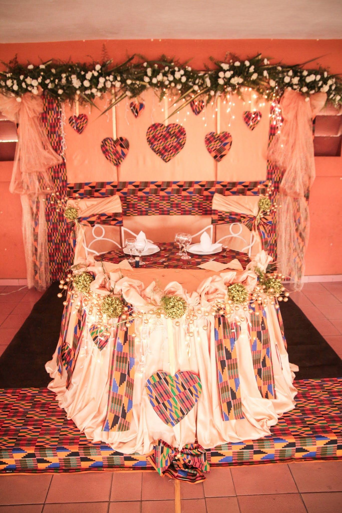 Wedding decorations ghana  WILLIAM u MELISSA UNE BELLE FEELING  je fais le Ghana