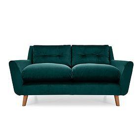 Halston Velvet 2 Seater Sofa 2 Seater Sofa Seater Sofa Sofa
