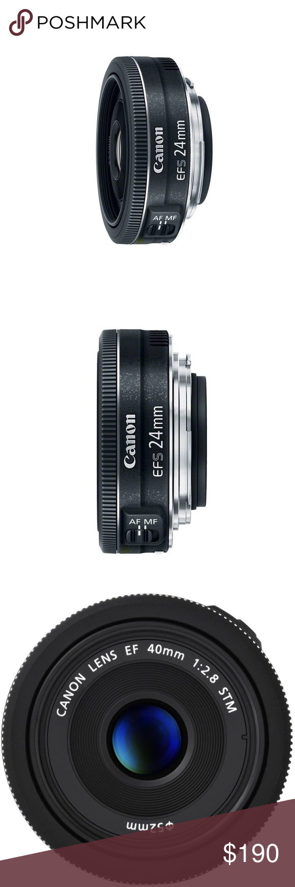 Canon Ef S 24mm F 2 8 Stm Lens New Wide Angle Lens For Canon Aps C Cameras Equivalent To 38mm On A Ful Canon Accessories Camera Focal Length Clothes Design