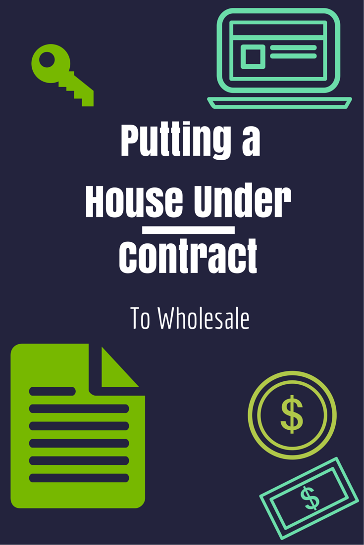 How To Fill Out A Real Estate Contract For Wholesaling Houses