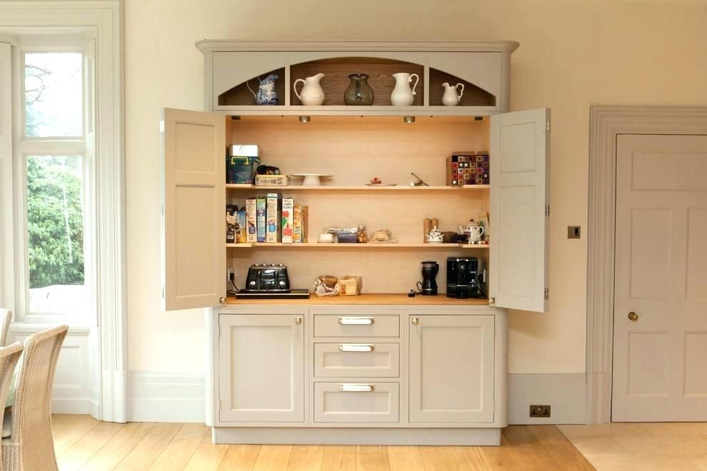 kitchen pantry cabinet freestanding stand alone pantry ...