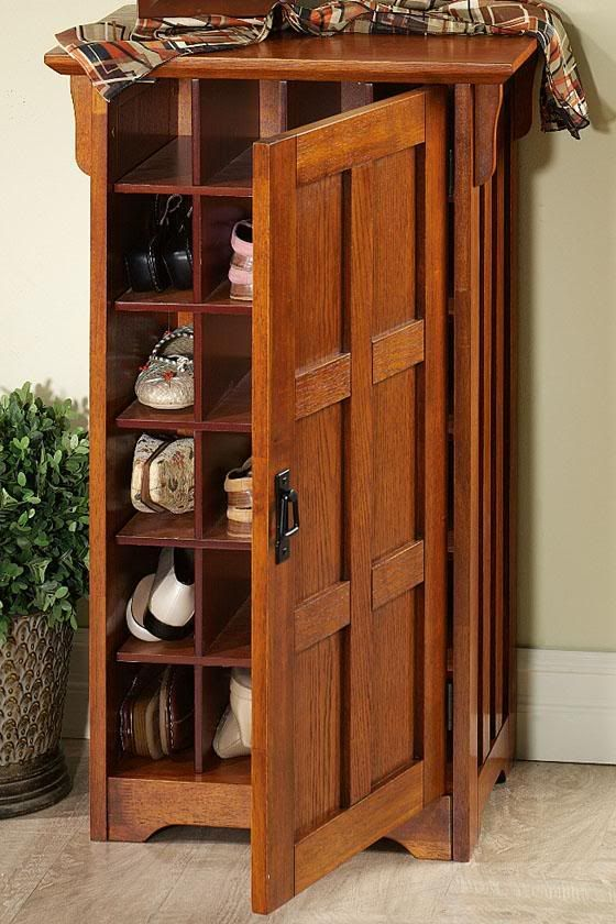 Entryway organization more shoe storage ideas home ideas for Foyer cabinet ideas