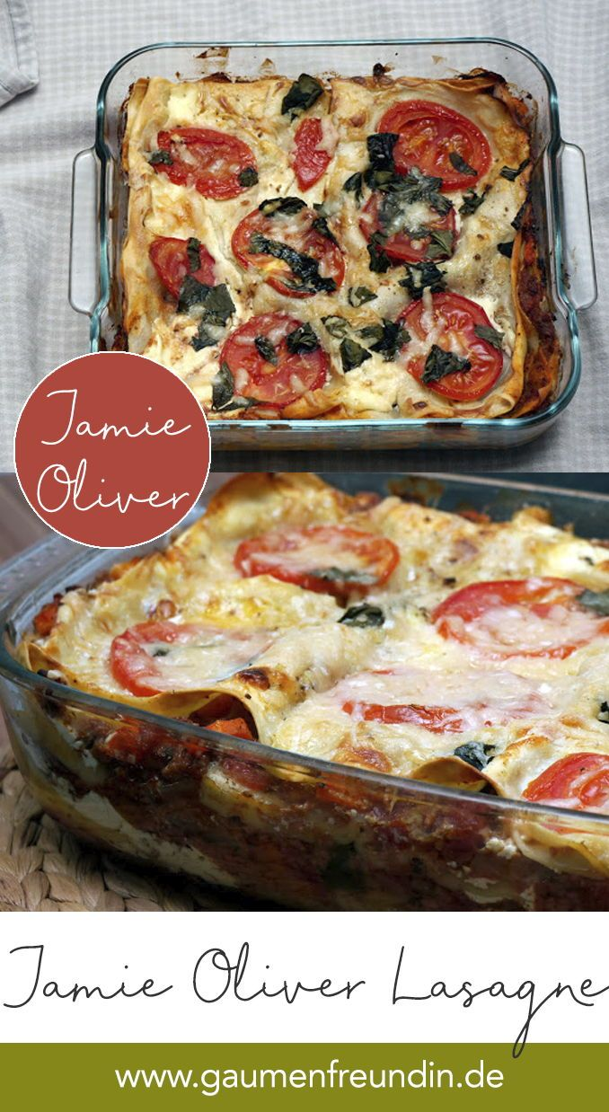 "Photo of Recipe for Jamie Oliver's Lasagna from ""Jamie's Cooking School"""