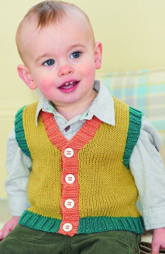 Cardigan and Waistcoat in Sirdar Snuggly Baby Bamboo DK (1272 ...