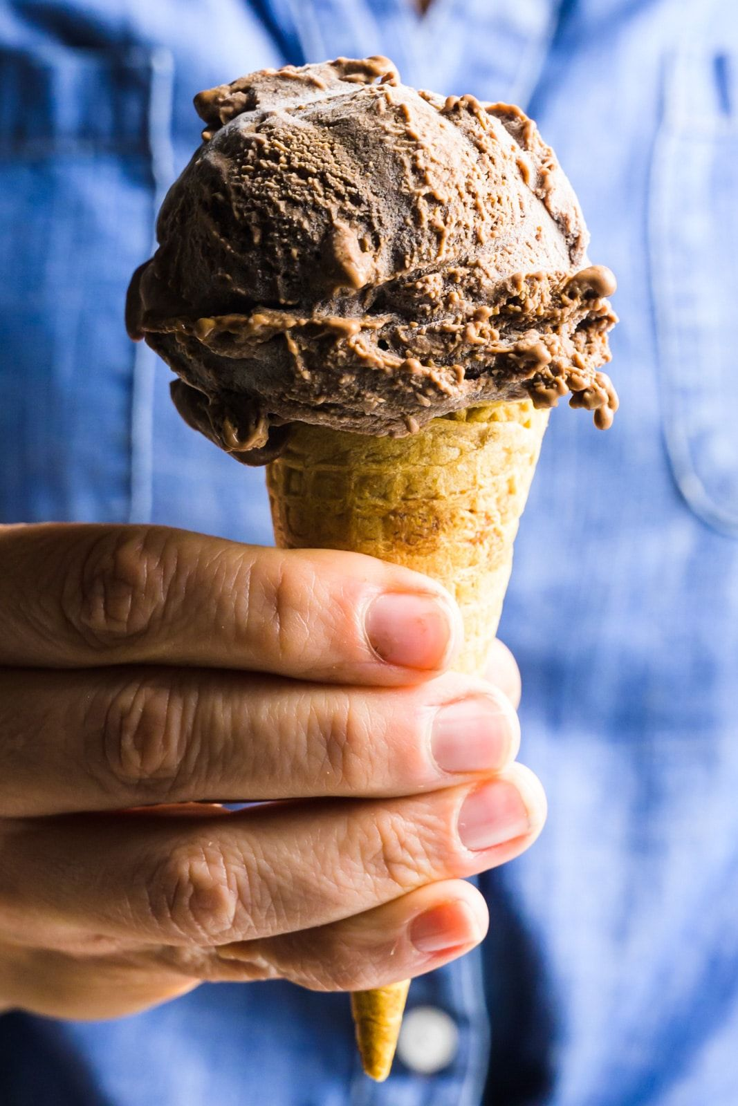 This Vegan Chocolate Ice Cream Should Is Creamy Smooth And Delicious But You L In 2020 Chocolate Ice Cream Recipe Vegan Chocolate Ice Cream Recipe Ice Cream Recipes