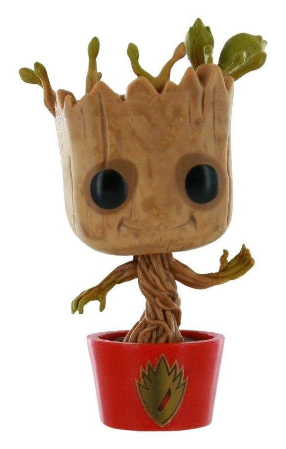 Funko Pop Marvel Guardians Of The Galaxy Dancing Groot 65 Red