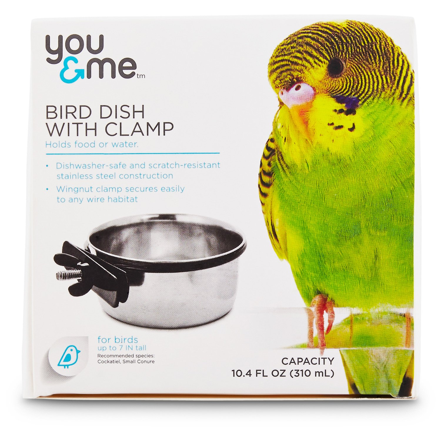 You & Me Stainless Steel Coop Cup with Clamp, Medium in 2019