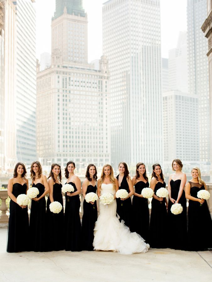 204d02aac686 Chicago Riverwalk, Wrigley Building, Tribune Tower Wedding Party Photo  Session Location // bridesmaids