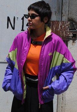 Rare Nike 90s Street Style Rave Vintage Jacket Vintage Jacket Rave Fashion Style Jeans Summer