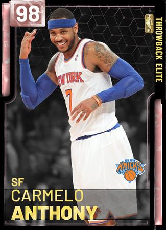 4453) Carmelo Anthony - NBA 2K19 Custom Card - 2KMTCentral