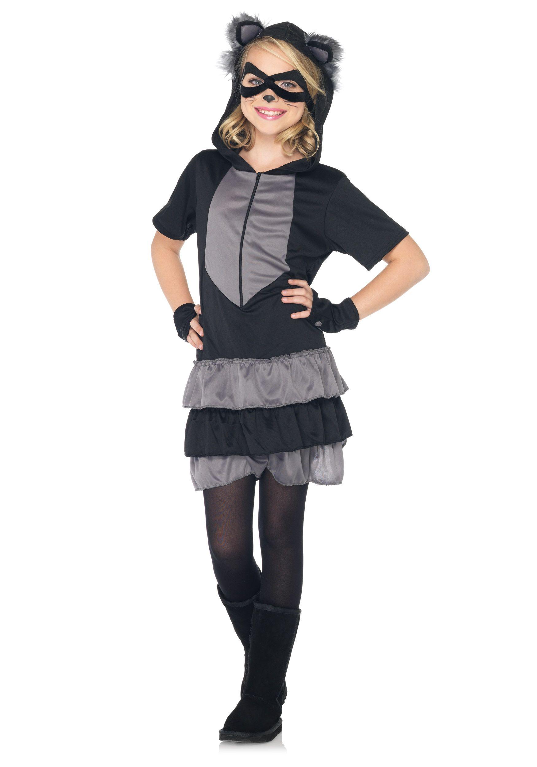 Sexy furry raccoon costume