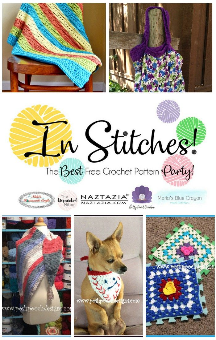 In Stitches: Best Free Crochet Pattern Party #11 | Pinterest ...