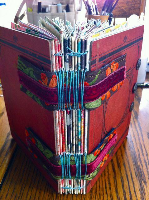 Art Journal found on flickr.com Wendy Schultz ~ Art Journals.