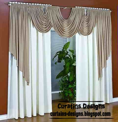 Exclusive contemporary windows curtain designs for living for Sheer panel curtain ideas
