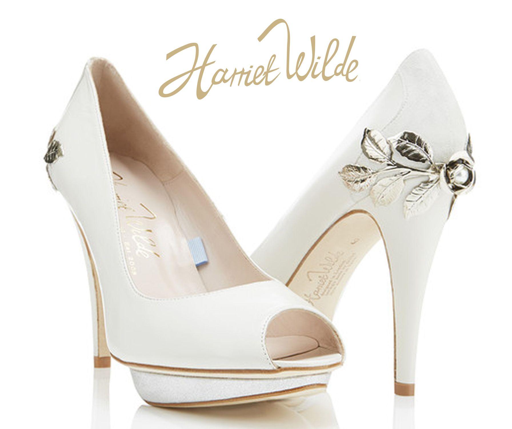 Bridgette Bespoke Harriet Wilde Wedding Shoes Price On Request Visit Www Harrietwilde