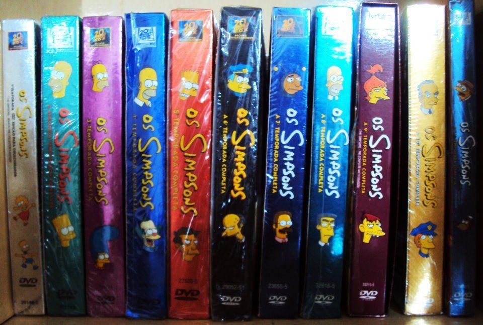 Temporadas Os Simpsons (Incompleta - 1ª a 11ª)