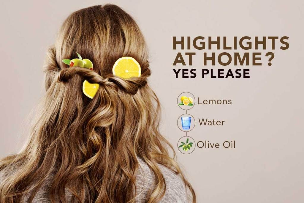 Lemony Natural Highlights For Your Hair In 2020 With Images