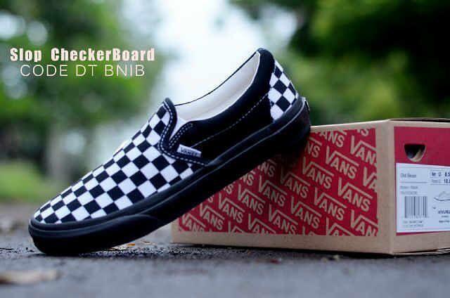 Dropsip N Reseller Welcome Vans Slop Checkerboard Wafle Dt Bnib
