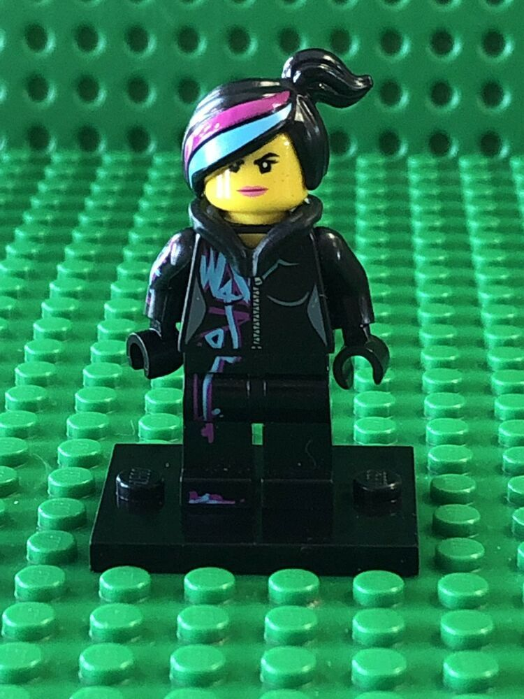 Lego New Wyldstyle Minifigure From 70803 70810 Wildstyle The Lego Movie Figure