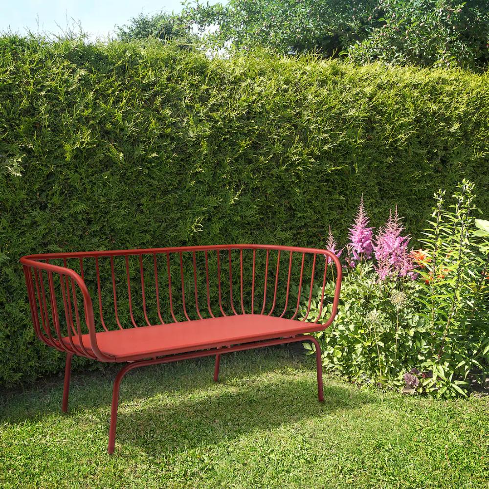 Brusen Sofa Outdoor Red Ikea In 2020 Ikea Outdoor Outdoor Garden Furniture Outdoor Sofa