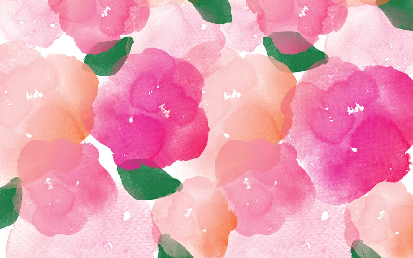 Spring Wallpaper Credits Designlovefest Watercolor Desktop