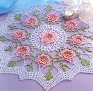 Resultado de imagen para flores tejidas a crochet picasa