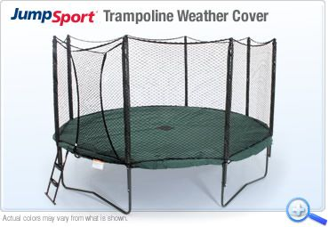 Jumpsport Trampoline Weather Cover Keep The Temperature
