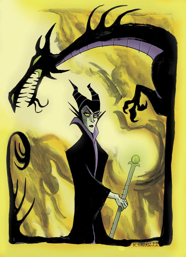 Maleficent and Dragon 8x10 Fabric Block Forces of Evil Buy 2 Get 1 FREE!