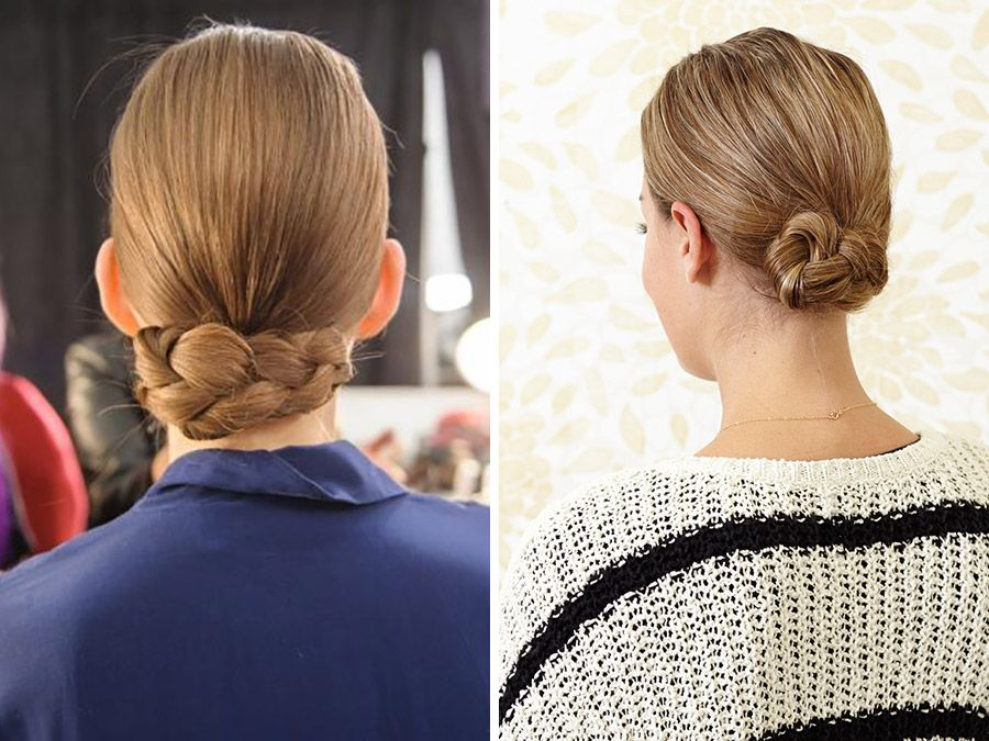 Braided Chignon: The 5-Minute Updo You've Been Waiting for | Hair styles, Easy everyday ...