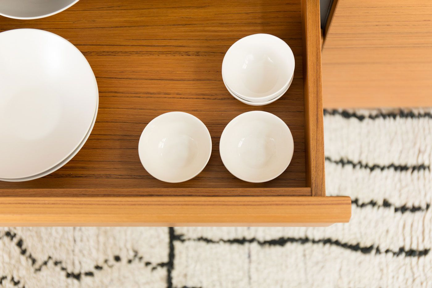 Kitzen Teak kitchen drawers  Retro / Mid Century Modern
