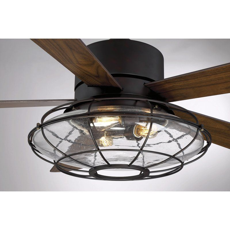 56 roberts 5 blade ceiling fan with remote control light