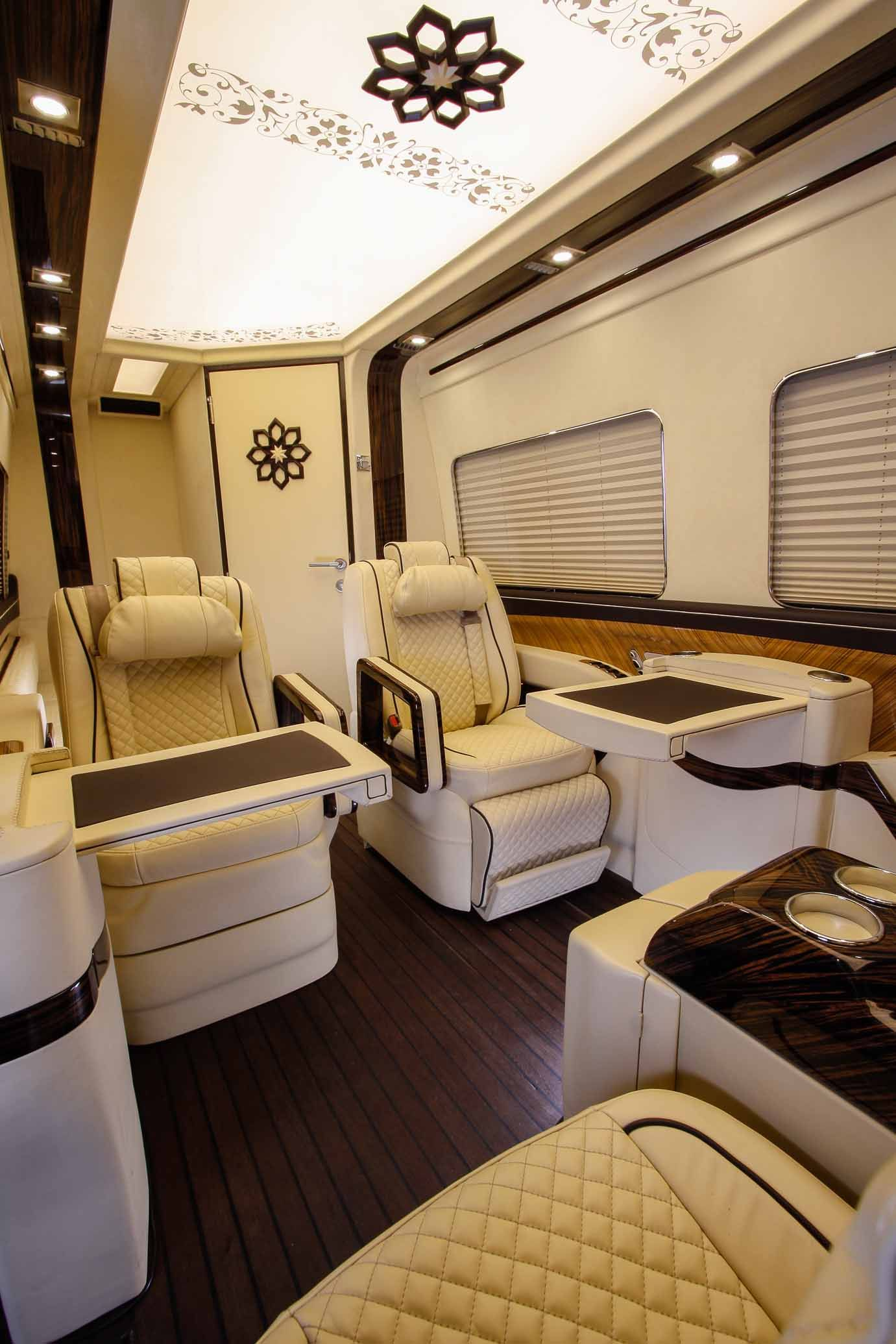 Luxury Vip Van By Klassen Manufacture Fine Leather Stitched In
