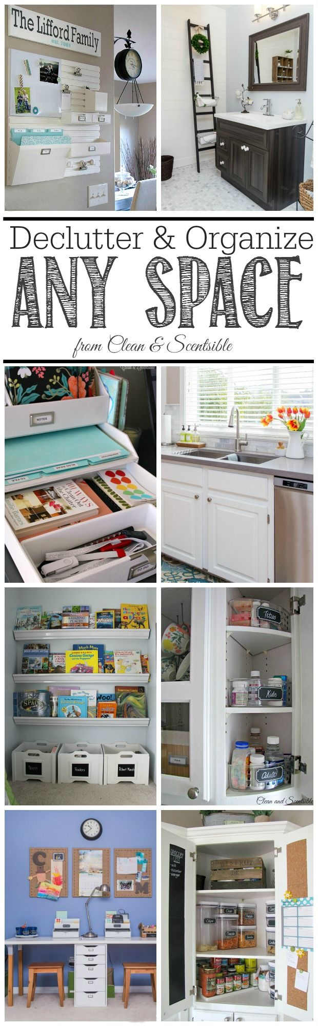 How to declutter and organize any space declutter for Declutter house plan