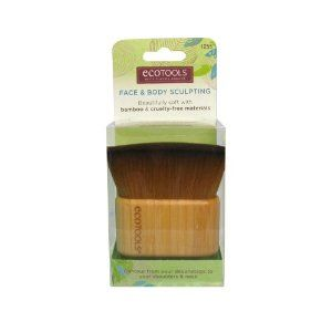 Ecotools Face and Body Sculpting Brush, 3.73 Ounce by Ecotools. $14.99. Supersoft and Supersized. Impressive, bamboo handle and incredibly soft, wide brush head perfect for creating a sculpted cheek or for all-over body application. This multi functional brush sweeps powder or bronzer to contour from your decolletage to your shoulders, neck and face. Create buildable coverage by applying the powder where you would like added definition. EcoTools cosmetic brushes are wha...