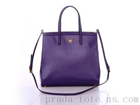 0f61afb062f4 Authentic  Prada BN2411 Handbags in Purple Outlet store