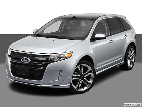 New Ford Edge Sport 2013 Suv At Crain Ford The Car Is Loaded With