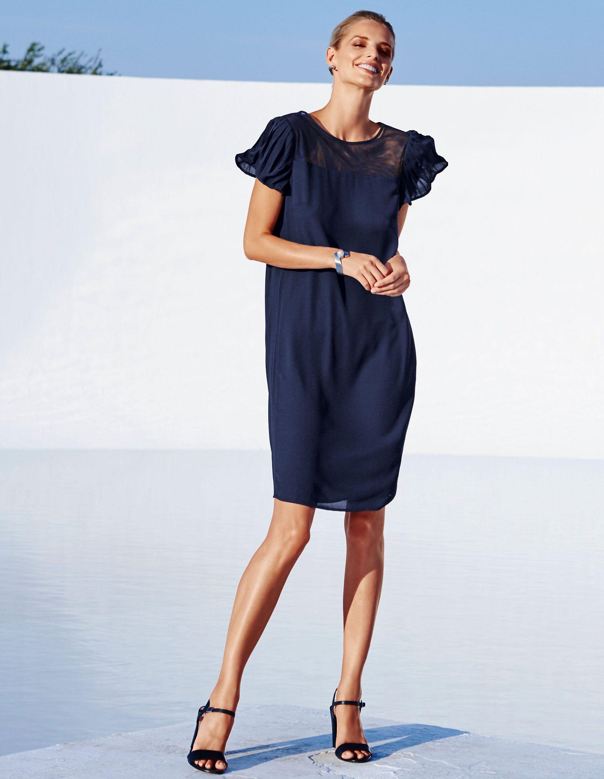 Jurk | Madeleine Mode | Mode, Kleid mit stehkragen ...