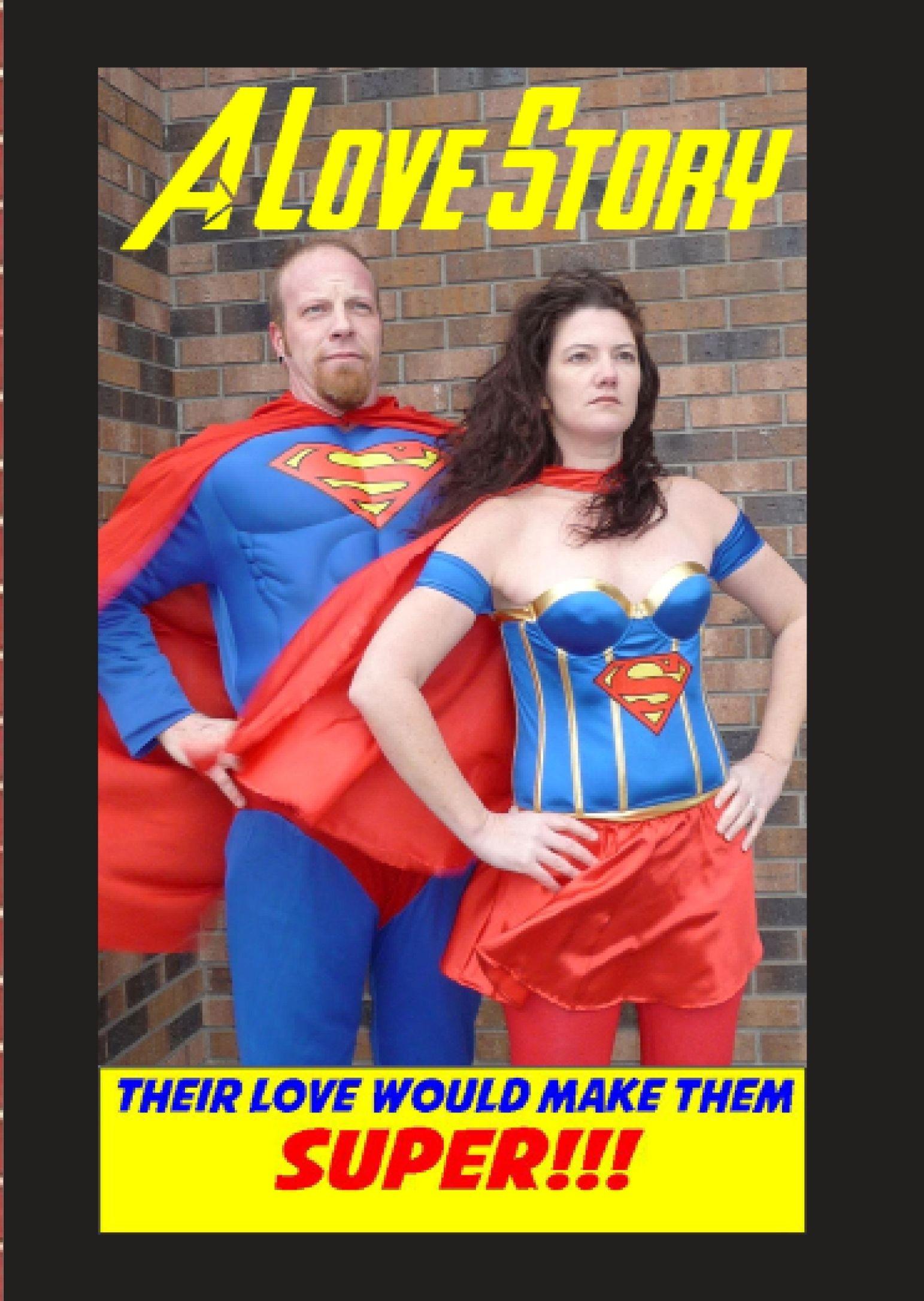 Superman Wedding Invitation for the Frost Friesen Superhero Wedding ...