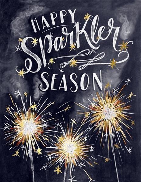 Happy Sparkle Season #holidaysinjuly