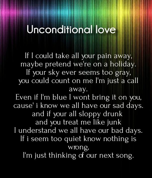 Unconditional Love Quotes And Poetry For Her Romantic Poems For