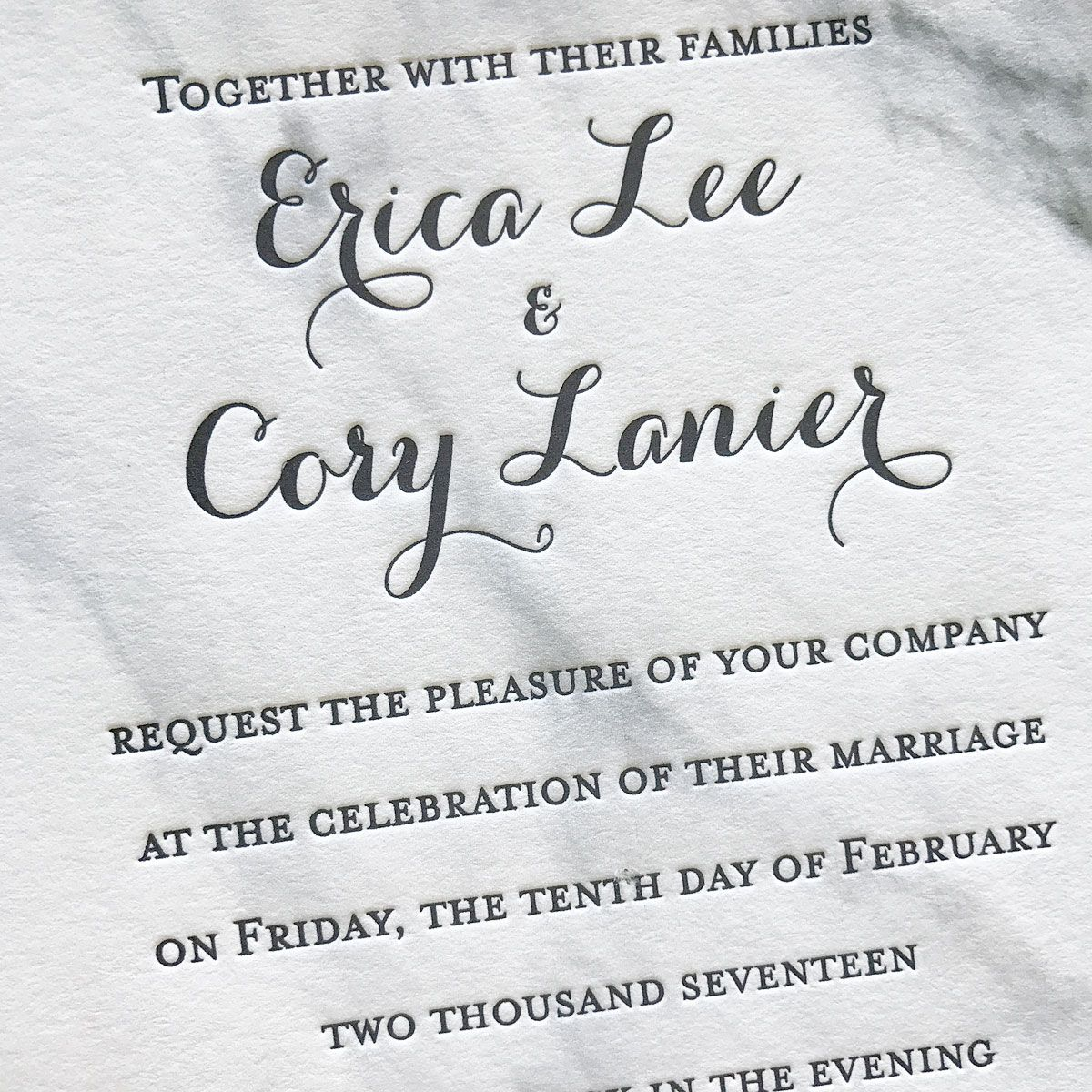 Just When You Were About To Give Up Hope On Affordable ... |Inexpensive Wedding Invitations Letterpress