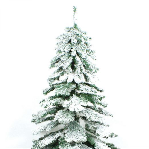 competitive price 40ecd 47fac 7ft Snow Covered Flocked Downswept Artificial Christmas Tree ...
