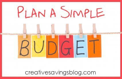 Plan A Simple Budget My Money System Explained  Budgeting And