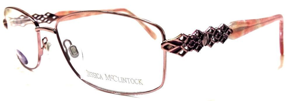 JESSICA MCCLINTOCK JMC 055 ROSE Women\'s Prescription Eye Glasses ...