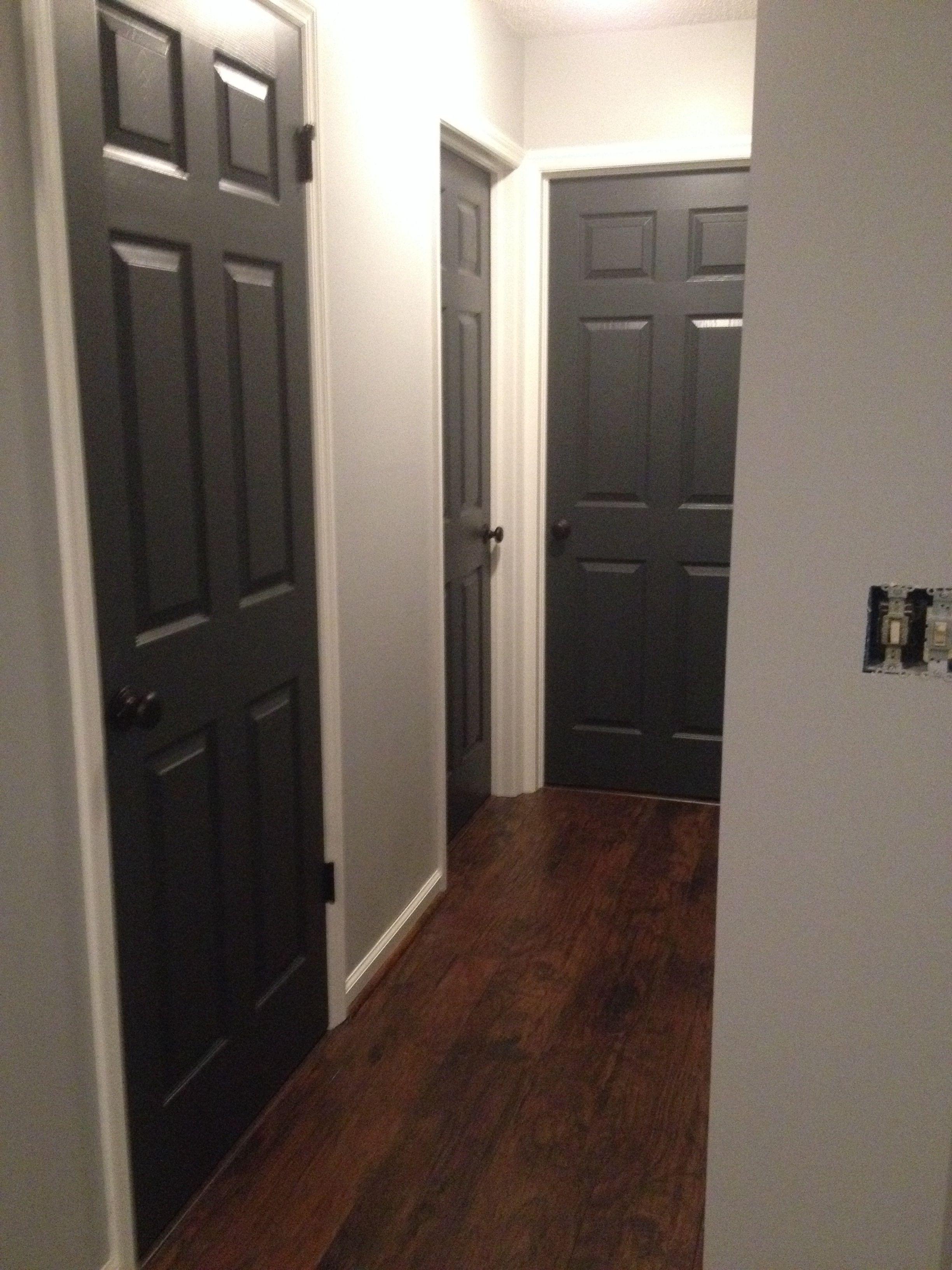 My Slate Black Doors Black Interior Doorsblack Doorsfront