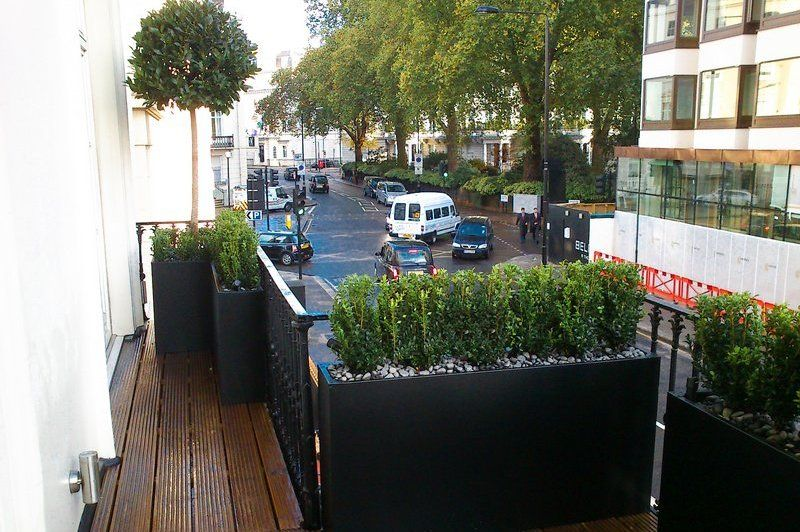 Roof Terrace Design London Roof terrace planters Roof terrace