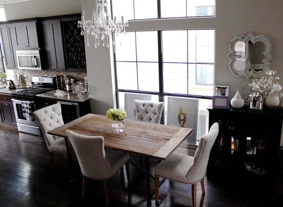 Restoration Hardware Inspired Dining Room Restoration Hardware Kitchen Home Kitchens Home Decor