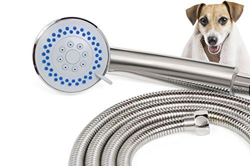 Smarterfresh Pet Faucet Sprayer Set Dog Shower For Home Dog