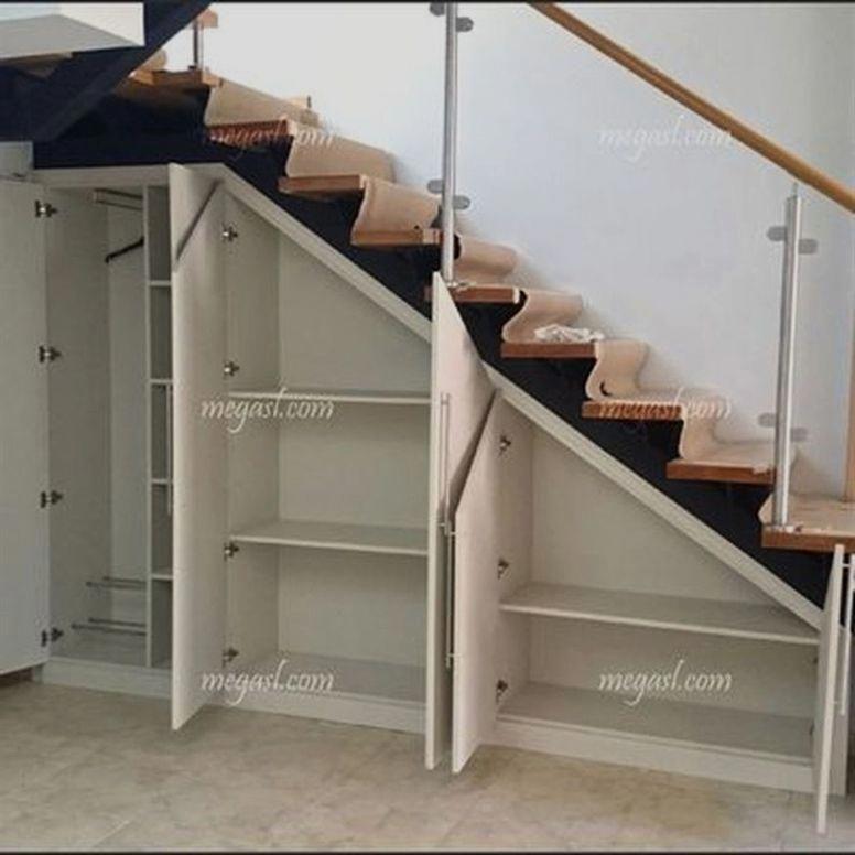 Bespoke Under Stairs Shelving: Basement Stairs Finishing Ideas